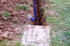 scavo per impianti irrigazione